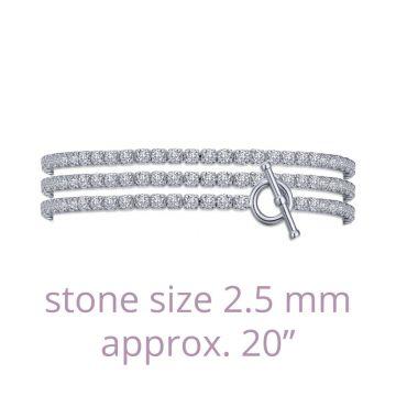 Lafonn Triple Wrap Tennis Bracelet