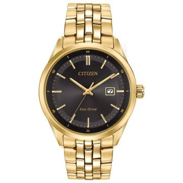 Citizen Eco-Drive Corso Stainless Steel Gold-Tone 41mm Men's Watch