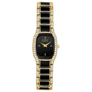 Citizen Eco-Drive Normandie Stainless Steel & Resin Women's Watch
