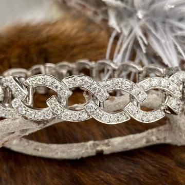 Add-a-Link Diamond Bracelet