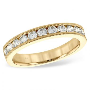 Allison Kaufman 14k Yellow Gold Anniversary Wedding Band