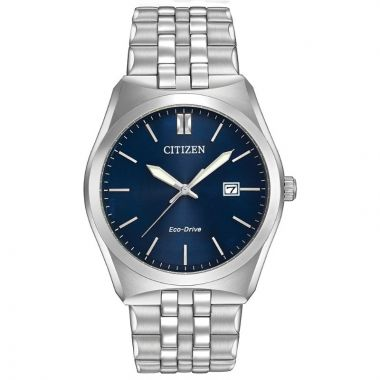 Citizen Eco-Drive Corso Stainless Steel Silver-Tone 40mm Men's Watch