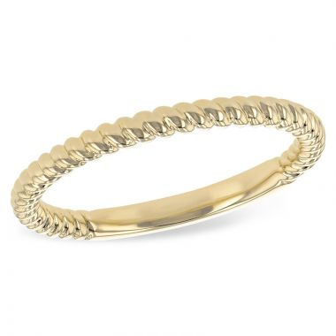 Allison Kaufman 14k Yellow Gold Wedding Band