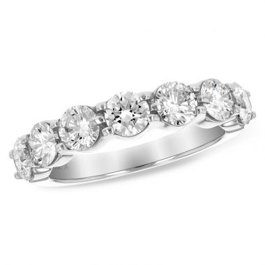Allison Kaufman 14k White Gold Anniversary Wedding Band